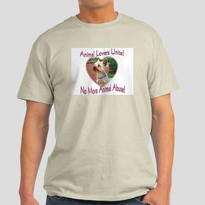Animal Lovers Unite! Light T-Shirt