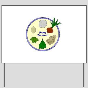 Seder Plate Yard Sign