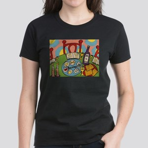 Seder Table Women's Dark T-Shirt