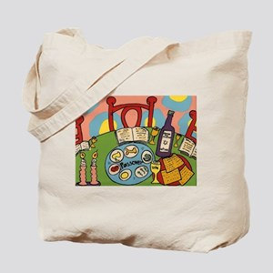 Seder Table Tote Bag