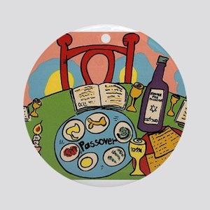 Seder Table Ornament (Round)