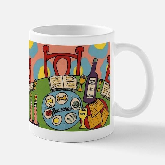 Seder Table Mug