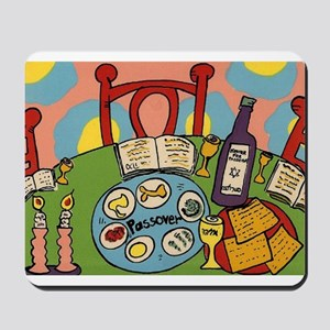 Seder Table Mousepad