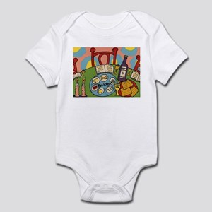 Seder Table Infant Bodysuit