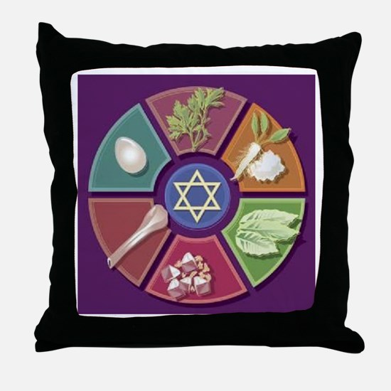 Seder Plate Other Throw Pillow