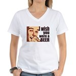 Beer t-shirts Women's V-Neck T-Shirt