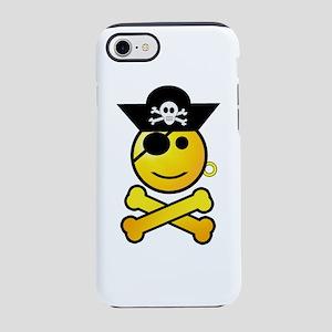 Pirate Boy Emoticon iPhone 8/7 Tough Case
