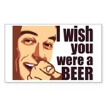 Beer t-shirts Rectangle Sticker 50 pk)