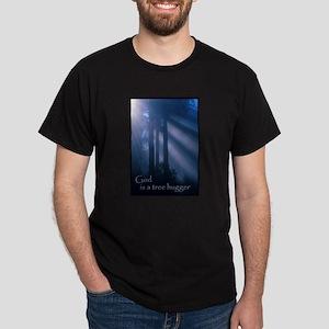 God tree hugger 1 Dark T-Shirt