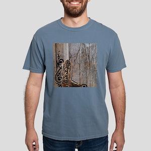 cowboy boots barnwood T-Shirt
