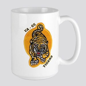 VA 65 Tigers Large Mug