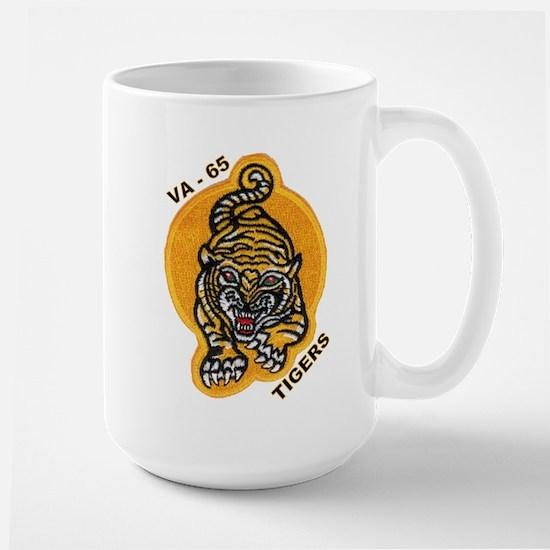 VA 65 Tigers Large Mug