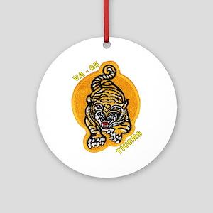 Va 65 Tigers (round) Round Ornament