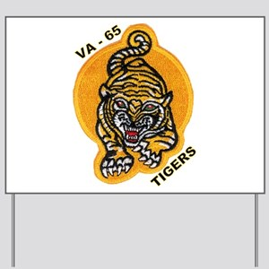 VA 65 Tigers Yard Sign