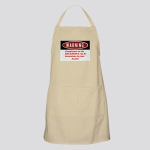 Warning II BBQ Apron