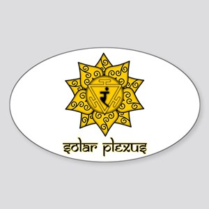 Solar Plexus Oval Sticker