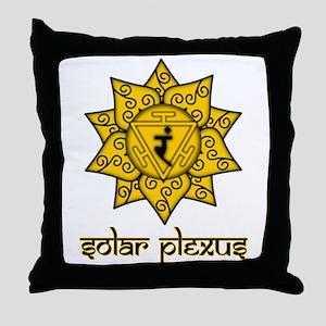 Solar Plexus Throw Pillow