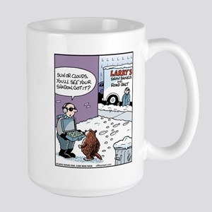 Salt Sander Bribes Groundhog Large Mug