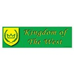Kingdom of the West Bumper Sticker (10 pk)