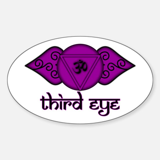 Third Eye Oval Decal