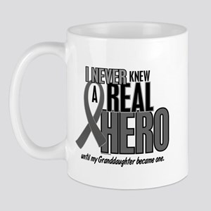 Never Knew A Hero 2 Grey (Granddaughter) Mug