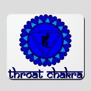 Throat Chakra Mousepad