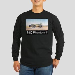 F-4 Phantom II Long Sleeve Dark T-Shirt