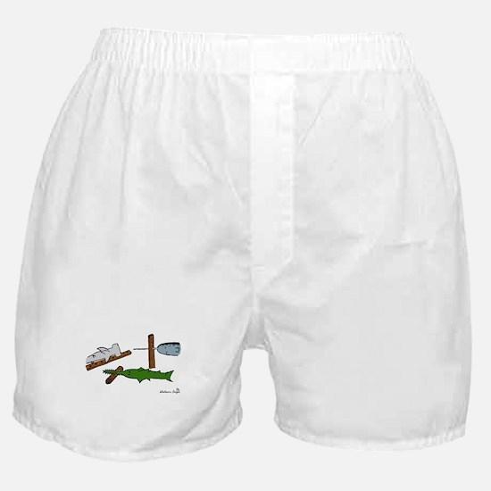 Unique Saw fish Boxer Shorts