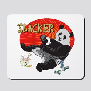 Slacker Panda Mousepad