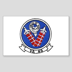 VA 46 Clansmen Rectangle Sticker