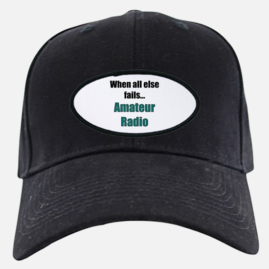 When all else fails..Amateur Radio Baseball Hat