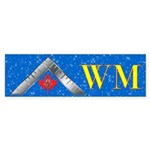 Masonic WM Canada Bumper Sticker