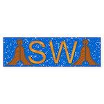 Masonic Senior Warden Bumper Sticker