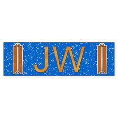 Masonic Junior Warden Bumper Bumper Sticker