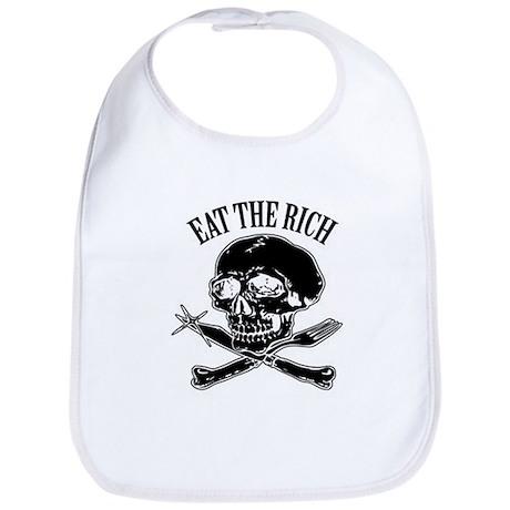 EAT THE RICH Bib