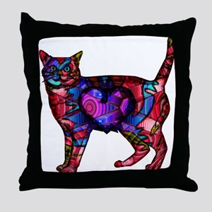 Chroma Calico Throw Pillow