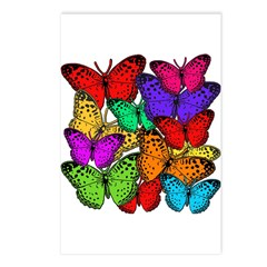 Brilliant Butterfly Design Postcards (Package of 8