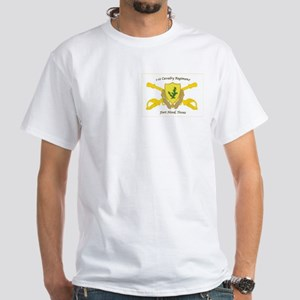 1-12 CAV Regiment Crest T-Shirt