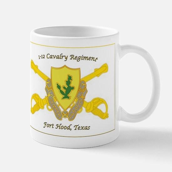 1-12 CAV Regiment Crest Mugs