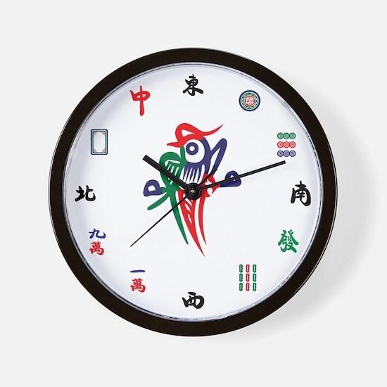 Unique Green dragon Wall Clock