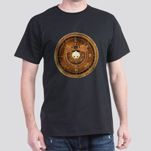Compass Rose Moose Dark T-Shirt