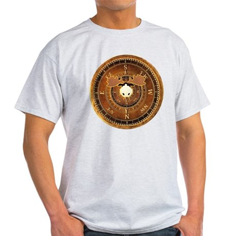 Compass Rose Moose Light T-Shirt