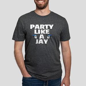 Part Like A Jay Bluejay Bird - Birders Des T-Shirt