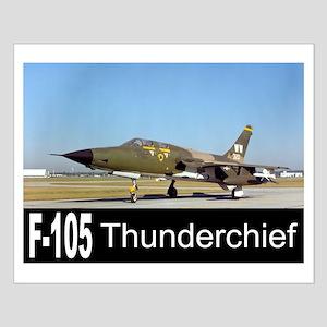 F-105 Thunderchief Small Poster