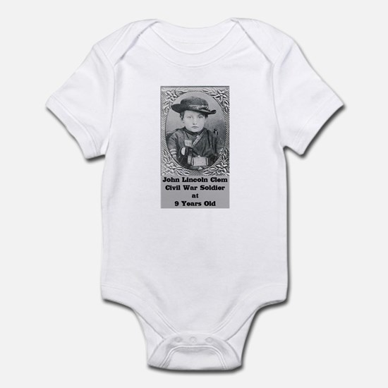 John Clem Infant Bodysuit
