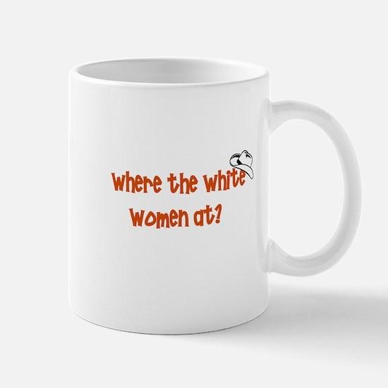 where-the-white-women-at Mugs