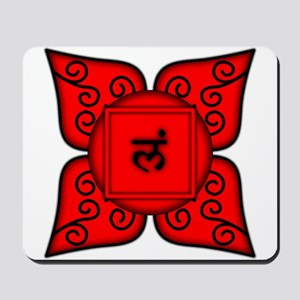 Root Chakra Mandala Mousepad
