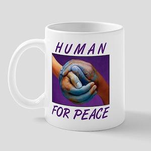 Human For Peace Mug