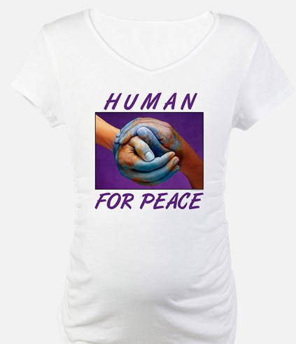 Human For Peace Shirt