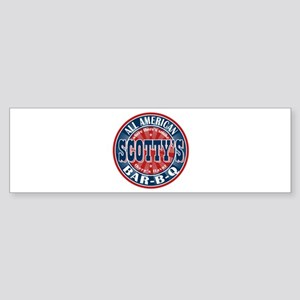 Scotty's All American BBQ Bumper Sticker